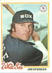 1978 Topps #182 Jim Spencer