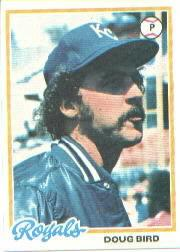 1978 Topps #183 Doug Bird