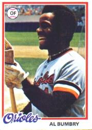 1978 Topps #188 Al Bumbry