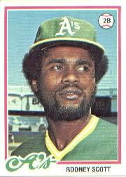 1978 Topps #191 Rodney Scott RC