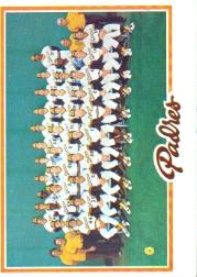 1978 Topps #192 San Diego Padres CL