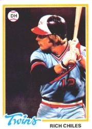 1978 Topps #193 Rich Chiles