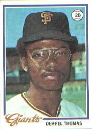 1978 Topps #194 Derrel Thomas