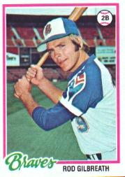 1978 Topps #217 Rod Gilbreath