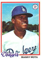 1978 Topps #228 Manny Mota DP