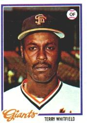1978 Topps #236 Terry Whitfield
