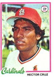 1978 Topps #257 Hector Cruz