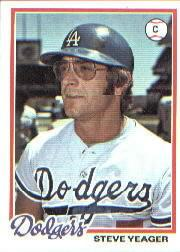 1978 Topps #285 Steve Yeager DP