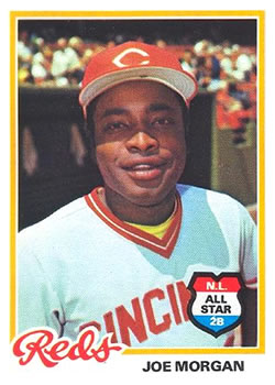 1978 Topps #300 Joe Morgan