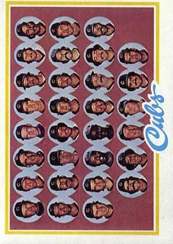 1978 Topps #302 Chicago Cubs CL