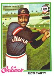 1978 Topps #305 Rico Carty