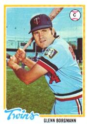 1978 Topps #307 Glenn Borgmann