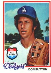 1978 Topps #310 Don Sutton