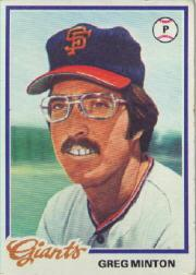 1978 Topps #312 Greg Minton