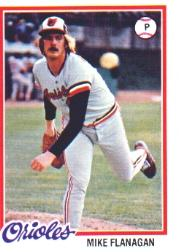 1978 Topps #341 Mike Flanagan