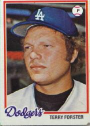 1978 Topps #347 Terry Forster