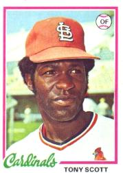 1978 Topps #352 Tony Scott RC