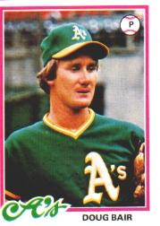 1978 Topps #353 Doug Bair RC