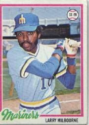 1978 Topps #366 Larry Milbourne DP