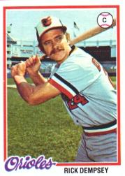 1978 Topps #367 Rick Dempsey