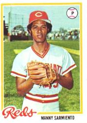 1978 Topps #377 Manny Sarmiento
