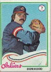 1978 Topps #398 Don Hood