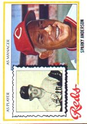 1978 Topps #401 Sparky Anderson MG