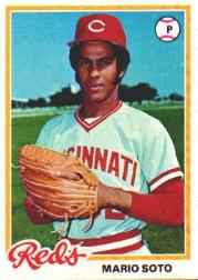 1978 Topps #427 Mario Soto RC