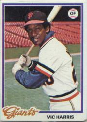 1978 Topps #436 Vic Harris DP