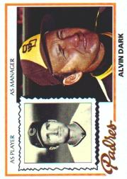 1978 Topps #467 Alvin Dark MG
