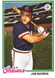 1978 Topps #484 Jim Norris RC