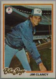 1978 Topps #496 Jim Clancy DP RC