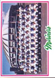 1978 Topps #499 Seattle Mariners CL
