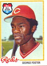 1978 Topps #500 George Foster