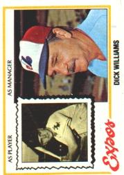 1978 Topps #522 Dick Williams MG