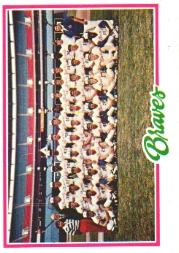 1978 Topps #551 Atlanta Braves CL