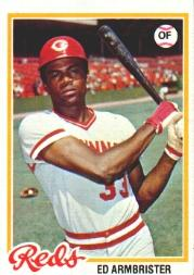 1978 Topps #556 Ed Armbrister