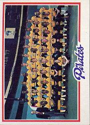 1978 Topps #606 Pittsburgh Pirates CL