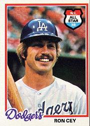 1978 Topps #630 Ron Cey