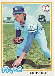 1978 Topps #638 Paul Splittorff