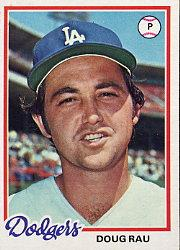 1978 Topps #641 Doug Rau