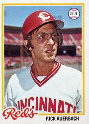 1978 Topps #646 Rick Auerbach DP