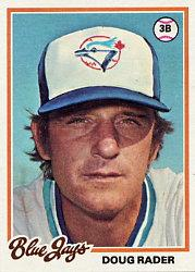1978 Topps #651 Doug Rader