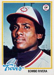 1978 Topps #657 Bombo Rivera