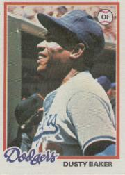 1978 Topps #668 Dusty Baker