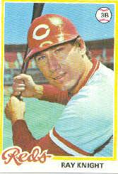 1978 Topps #674 Ray Knight RC