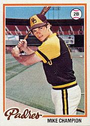 1978 Topps #683 Mike Champion