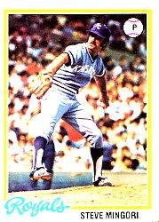 1978 Topps #696 Steve Mingori