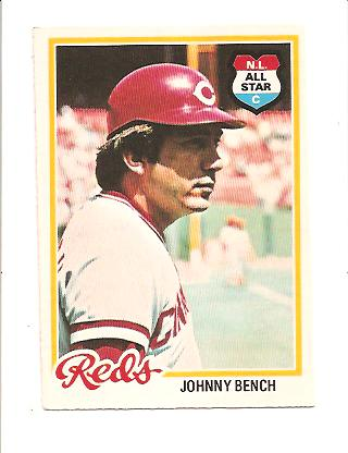 1978 O-Pee-Chee #50 Johnny Bench