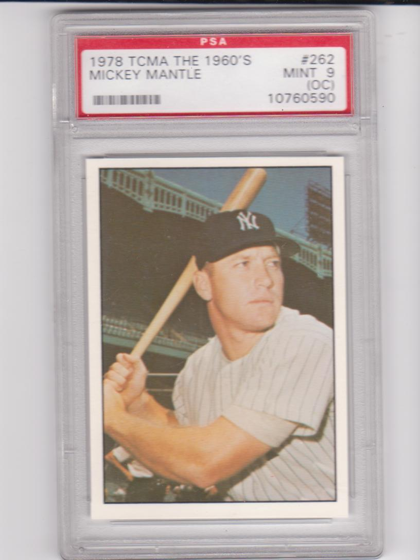 1978 TCMA 60'S I #262 Mickey Mantle